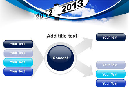 New Year Border PowerPoint Template Slide 14