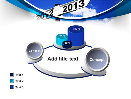New Year Border PowerPoint Template Slide 16