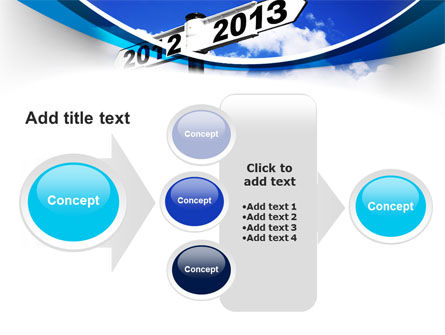 New Year Border PowerPoint Template Slide 17