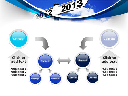New Year Border PowerPoint Template Slide 19