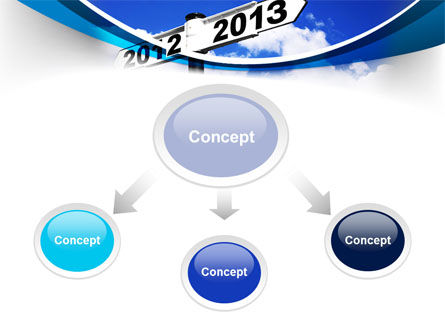 New Year Border PowerPoint Template Slide 4