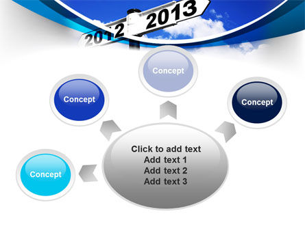 New Year Border PowerPoint Template Slide 7