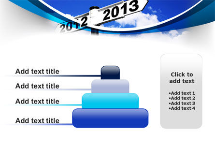 New Year Border PowerPoint Template Slide 8