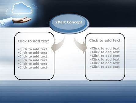 Cloud Solutions PowerPoint Template, Slide 4, 10410, Technology and Science — PoweredTemplate.com