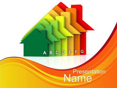 Energy Efficiency PowerPoint Template, 10411, Careers/Industry — PoweredTemplate.com