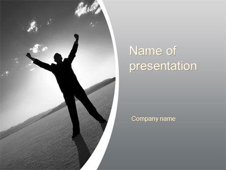 Business Concepts: Achievements PowerPoint Template #10415
