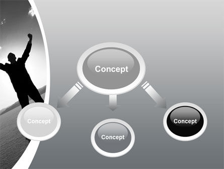 Achievements PowerPoint Template, Slide 4, 10415, Business Concepts — PoweredTemplate.com