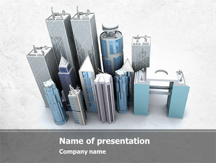 Famous Skyscrapers PowerPoint Template