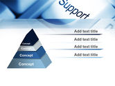 Support Button PowerPoint Template#12