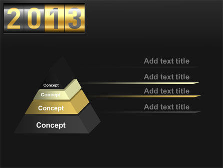 New Year Counter PowerPoint Template Slide 12