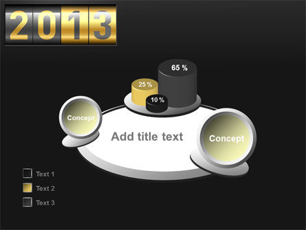 New Year Counter PowerPoint Template Slide 16