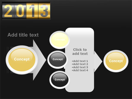 New Year Counter PowerPoint Template Slide 17
