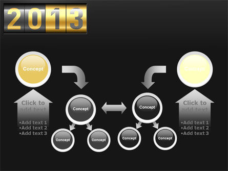 New Year Counter PowerPoint Template Slide 19
