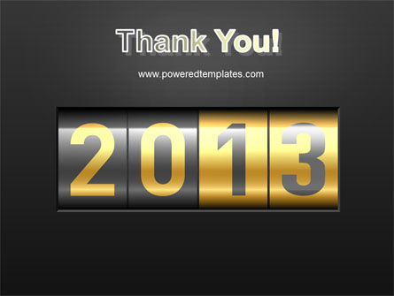 New Year Counter PowerPoint Template Slide 20
