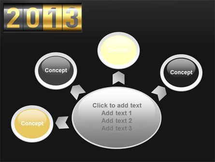 New Year Counter PowerPoint Template Slide 7
