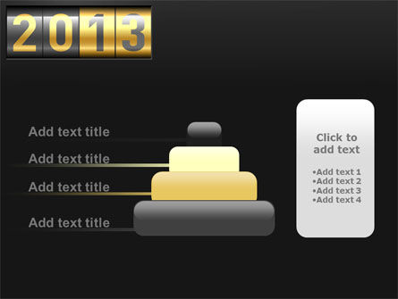New Year Counter PowerPoint Template Slide 8
