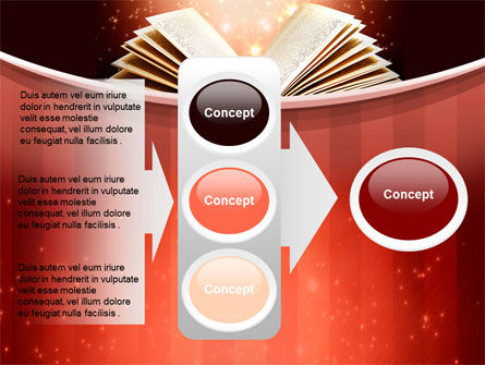 Magic Book PowerPoint Template Slide 11