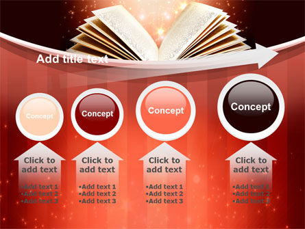 Magic Book PowerPoint Template Slide 13