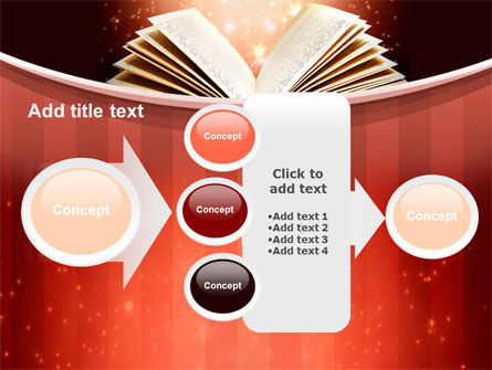 Magic Book PowerPoint Template Slide 17