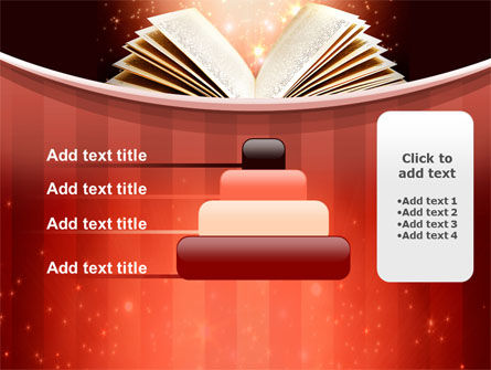 Magic Book PowerPoint Template Slide 8