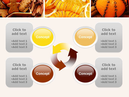 Christmas Cooking PowerPoint Template Slide 9