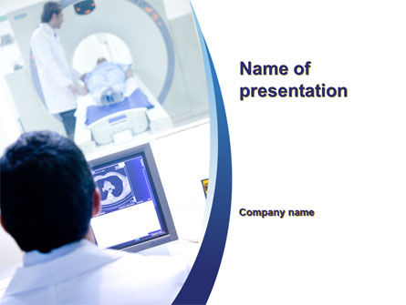 Mri examination powerpoint template backgrounds 10424 mri examination powerpoint template toneelgroepblik Image collections