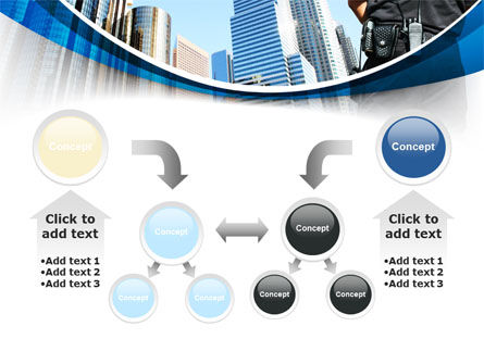 City Guard Security PowerPoint Template Slide 19