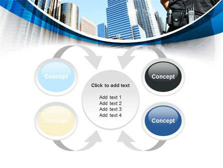 City Guard Security PowerPoint Template Slide 6