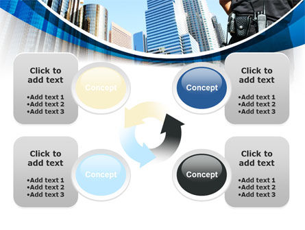 City Guard Security PowerPoint Template Slide 9