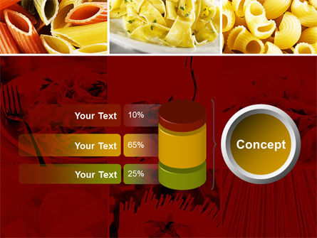 Pasta Recipes PowerPoint Template Slide 11