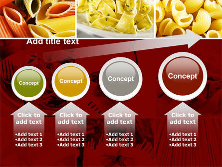 Pasta Recipes PowerPoint Template Slide 13