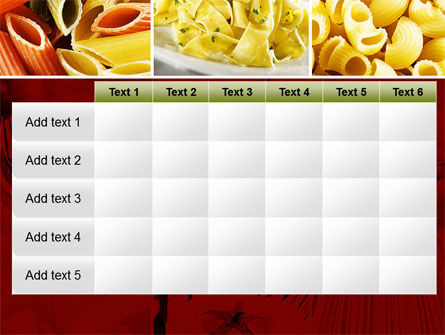 Pasta Recipes PowerPoint Template Slide 15
