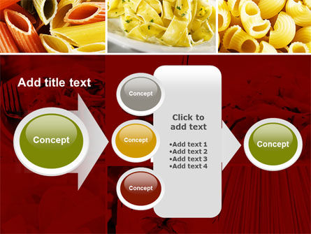 Pasta Recipes PowerPoint Template Slide 17