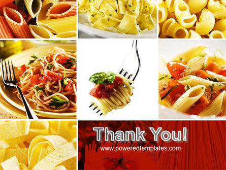 Pasta Recipes PowerPoint Template Slide 20
