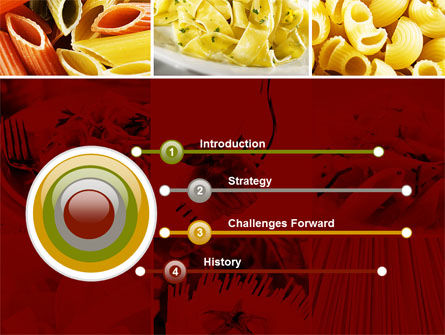 Pasta Recipes PowerPoint Template, Slide 3, 10426, Food & Beverage — PoweredTemplate.com