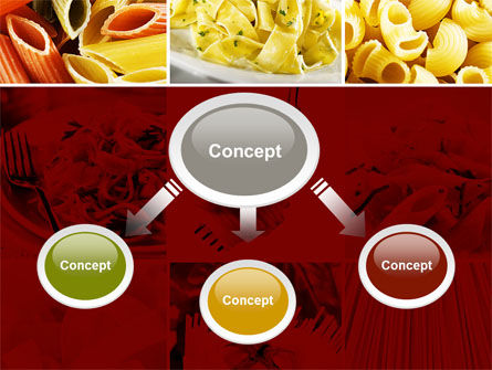 Pasta Recipes PowerPoint Template, Slide 4, 10426, Food & Beverage — PoweredTemplate.com