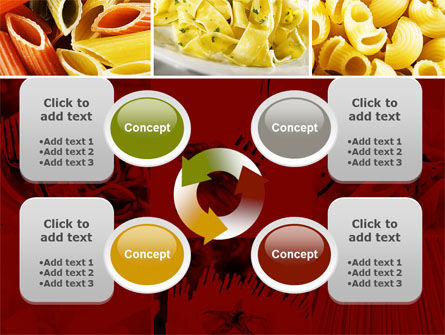 Pasta Recipes PowerPoint Template Slide 9