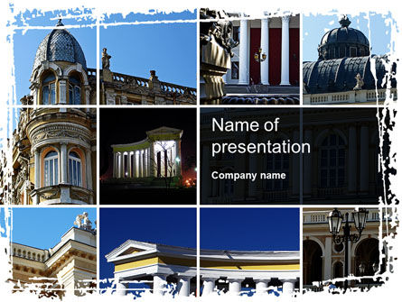 Construction: Architecture Style PowerPoint Template #10428