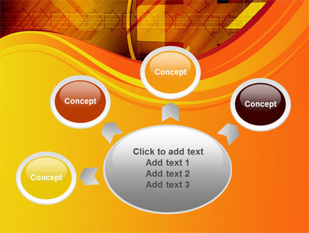 Intersection PowerPoint Template Slide 7
