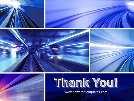 High Speed Motion PowerPoint Template Slide 20