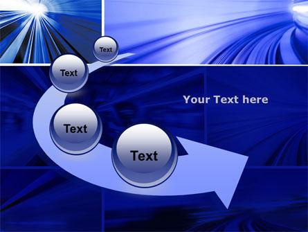 High Speed Motion PowerPoint Template Slide 6