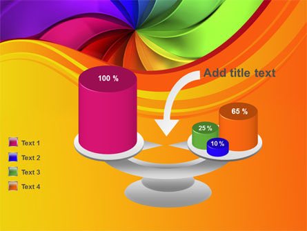 Rainbow Swirl PowerPoint Template Slide 10