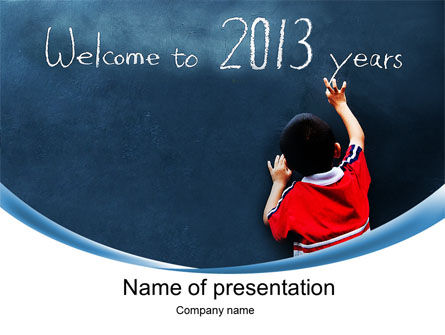 Education & Training: Welcome to 2013 PowerPoint Template #10434
