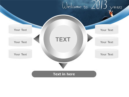 Welcome to 2013 PowerPoint Template Slide 12