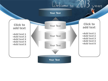 Welcome to 2013 PowerPoint Template Slide 13