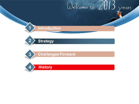 Welcome to 2013 PowerPoint Template Slide 3
