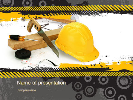 Construction Safety PowerPoint Template