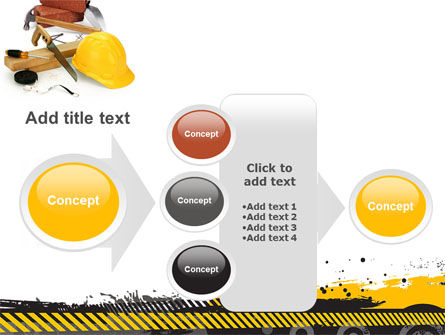 Construction Safety PowerPoint Template Slide 17