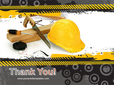 Construction Safety PowerPoint Template Slide 20
