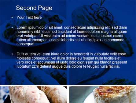 Cuisine PowerPoint Template, Slide 2, 10437, Food & Beverage — PoweredTemplate.com